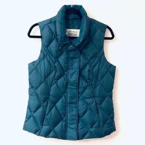 Eddie Bauer Premium Goose Down Vest Sz Medium